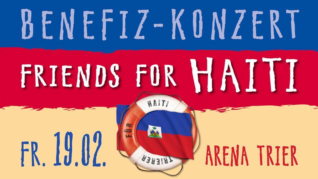 "Logo ""Friends for Haiti"""